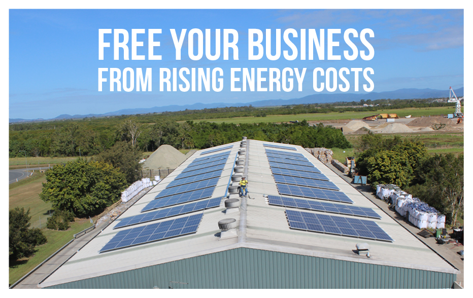 FREE YOUR BUSINESS FROM RISING ENERGY COSTS