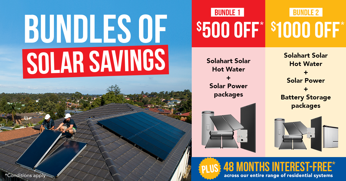 Save With Solahart